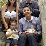 Familia anfitriona de Homestay Emmanuelle en Ytres, France