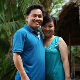 Familia anfitriona en Vung Liem, Vinh Long, Vietnam