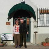 Familia anfitriona en Santa Lucia ai Monti, Valeggio sul Mincio, Italy