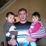 Familia anfitriona en Tunguch, Bishkek, Kyrgyzstan