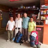 Familia anfitriona de Homestay Solanda  en Puerto lopez, Ecuador