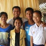 Família anfitriã em Siem Reap district, Siem Reap, Cambodia