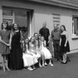 Família anfitriã em Clonegal,  Enniscorthy, Ireland