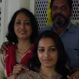 Familia anfitriona de Homestay Bharathi en Mysuru, India