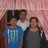 Famiglia a Haputale, Haputale, Sri Lanka