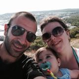 Familia anfitriona en  Località XXX Miglia, Ronciglione (VT), Italy