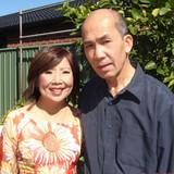 Familia anfitriona en Blair Athol, Adelaide, Australia