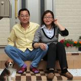 Família anfitriã Yoko em Nakanoku, Japan