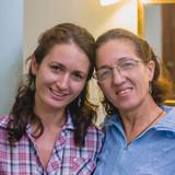 Famiglia a Vedado, Havana, Cuba