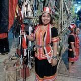 Famiglia a Kpg Semadang, Kuching, Sarawak., Padawan, Malaysia