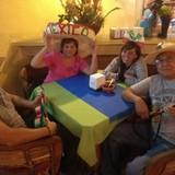 Famiglia a Progreso, Mexico