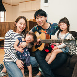 Famiglia a Tokyo, Kawaguchi, Japan