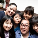 Famiglia a Kawasaki station, Kawasaki-shi, Japan