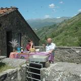 Host Family in Corsagna, Borgo a Mozzano, Lucca, Italy