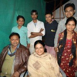 Gastfamilie in Fathabad road , Agra, India