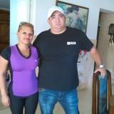 Famiglia a casino deportivo, habana, Cuba