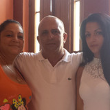 Familia anfitriona en Colon, Centro Habana, Cuba