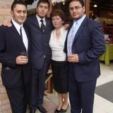 Famiglia a Cuenca, Ecuador