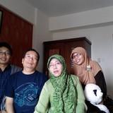 Famiglia a Kasihan, Bantul, Indonesia