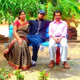 Familia anfitriona en Marari beach/ Mararikulam, Aleppey/ Mararikulam, India