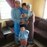 Familia anfitriona en penanti, bukit mertajam, Malaysia