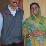 Familia anfitriona en Devpur Jakhwali, Bhuj, India