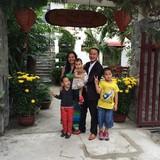 Famiglia a Son Pho 1, Cam Chau, Hoi An, Vietnam