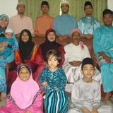 Famiglia a Kampong Sungai Terap, Kuala Selangor, Malaysia