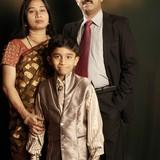Famille d'accueil à kihim, alibag, India
