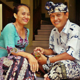 Família anfitriã Ngurah em Denpasar, Indonesia