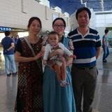 Familia anfitriona en 柳营花园, Hangzhou, China