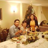 Família anfitriã Gioconda em Quito, Ecuador