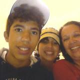 Familia anfitriona en Vila Prudente, São Paulo, Brazil