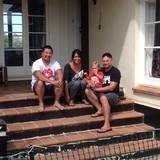 Familia anfitriona en Hillsborough, Auckland, New Zealand