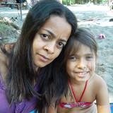 Família anfitriã em Vilas de atlantico, Salavdor, Brazil