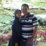 Família anfitriã em sungkai, sungkai, Malaysia