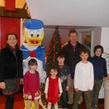 Família anfitriã Bernadette em Trim, Ireland