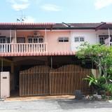 Família anfitriã em Manjung, Perak, Malaysia