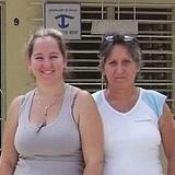 Familia anfitriona en Reparto Peralta, Holguin, Cuba