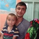Familia anfitriona en Bazar kurgan , Arslanbob, Kyrgyzstan