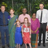 Host Family in Lake, Kandy, Sri Lanka