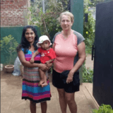 Familia anfitriona en Matale, Matale, Sri Lanka