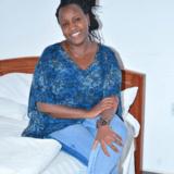 Família anfitriã Gladyswanjik em nairobi, Kenya
