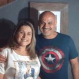 Familia anfitriona en São Domingos, Niterói, Brazil