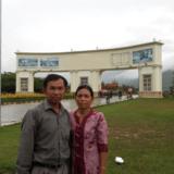 CambodiaGreen home II, siem reap 的房主家庭