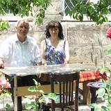 Host Family in Sharl Aznavur Square, Gyumri, Armenia
