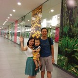 Host Family in Big C, bus station, Hanoi (Ha Noi), Vietnam