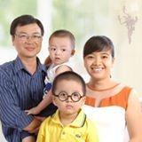 Familia anfitriona en Tan Quy, Ho Chi Minh, Vietnam