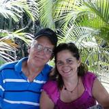 Familia anfitriona en Guanabo, La Habana, Cuba