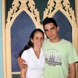 Famiglia a calle Carmen, frente al Restaurante El Marino, Trinidad, Cuba
